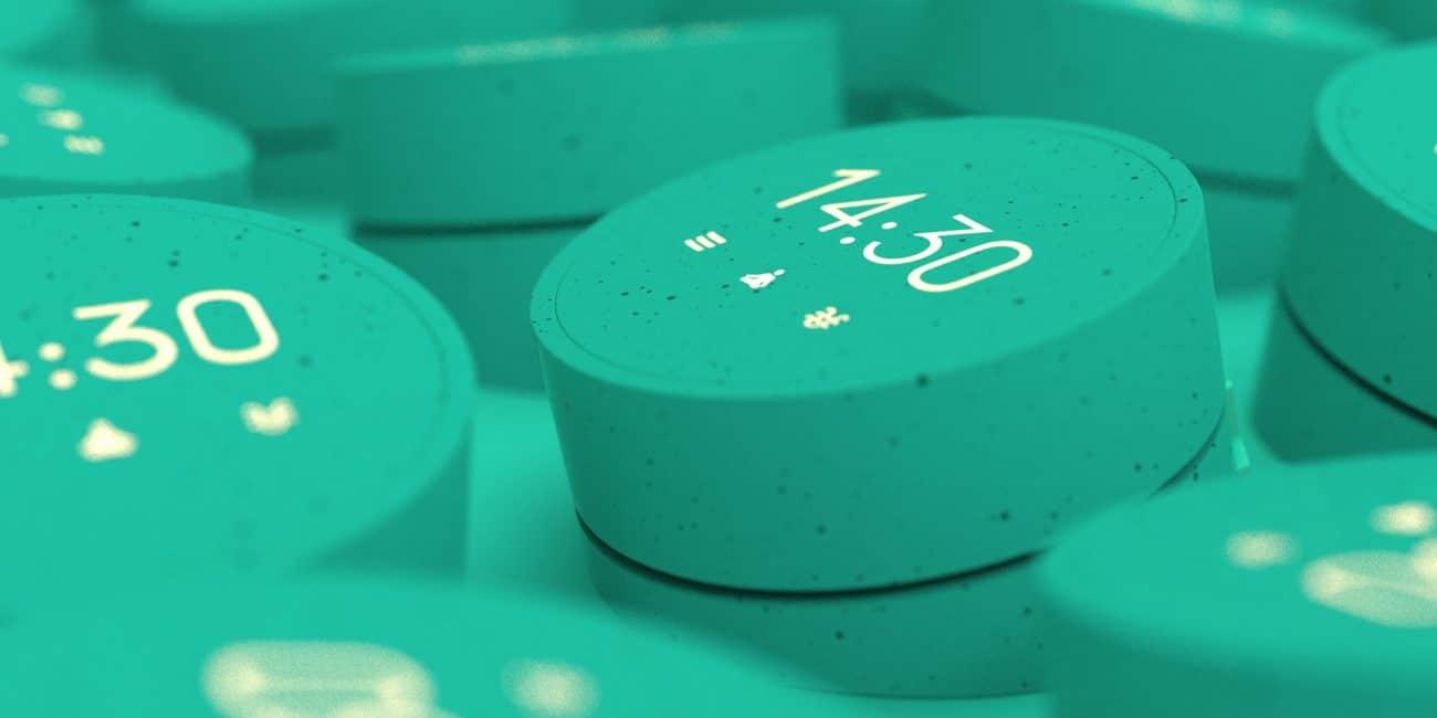 Produktgestaltung und Designstudie für eine Hardwareanwendung von 7mind